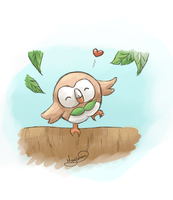 Rowlet by May-Lene