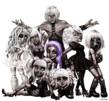 IMVU - Gray People by yuikami-da