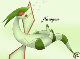 Sleepin' Flygon by Resistance-Of-Faith