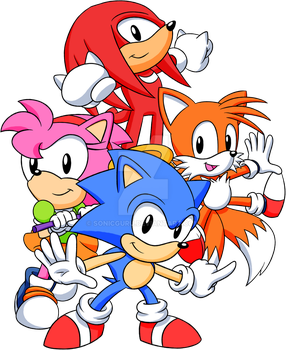 Classic Team Sonic by Sonicguru