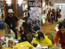 Table at Akon 23 by neilak20