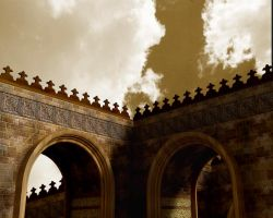 An islamic arch by maxspider