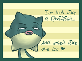 Qwilentine's Day Message by AgentQwilfish