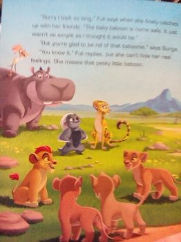 Another picture from my lion guard book by aliciamartin851