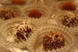 Nutella truffles by thelastpterodactyl