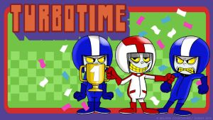Turbotime (wallpaper model 2) by Turbotastique