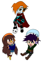 FoH: Chibi Triforce by Lexial-XIII
