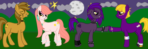 The Lunars: LotP/MLP Crossover-Finished by Lady-Ri