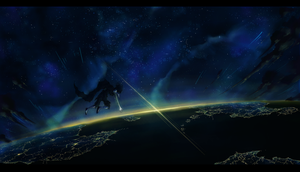 The Overview Effect by Kansaibou