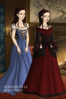 Rosalie and Belle by OceariaSaraphine