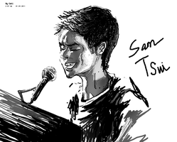 Sam Tsui by kiiriin