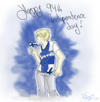 94th Independence day in Finland by IdaBlack