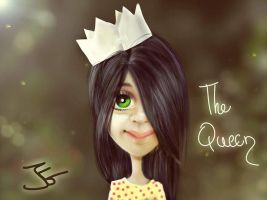 The Queen by jgabriele