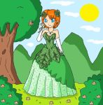 princess of nature by ninpeachlover