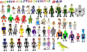 Cartoon All-Star Olympics Team 3 Smart Guy's Posse by tomyucho