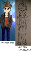 WIP redraw 'Dude' by groncaloncia