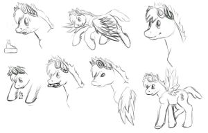 Bustersketches by LilLoate