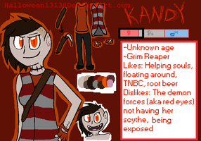 Kandy Refrence by Halloween1313