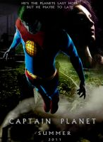 Captain Planet movie poster 2 by Notason89
