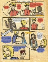 Hetalia - France and England, 1649 (page 2/2) by HeroicPlights