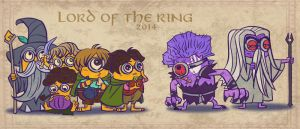 LOTR yellow one by breathing2004