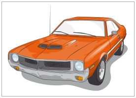 AMC Javelin by pixelpsycho