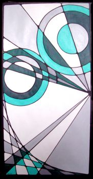 Geometric Composition 8 by kiddo1985