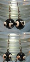 Soot Sprite Earrings by okapirose