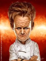 Chef Gordon Ramsay by CarlosRubio