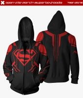 Superboy Hoodie by seventhirtytwo