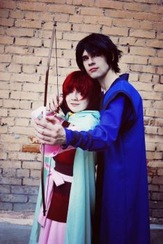Princess Yona and Son Hak by MadnessEyes