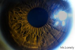 human eye 1 by 0MrLonely0