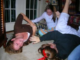 Real Girls Tickle Each Other 2 (Mainstream) by DrTicklerOfSoftSoles