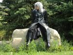 Kingdom Hearts - Organization XIII Riku by KayaLing