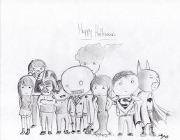 Happy Halloween 2012 by TEALRICE
