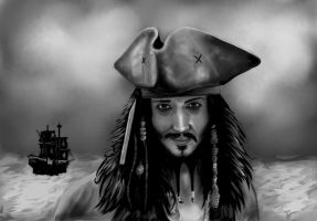 Captain Jack Sparrow by TomCzech