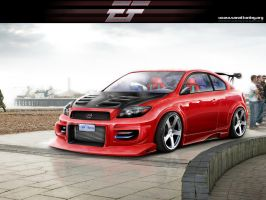 Scion tC 2008 by EmreFast