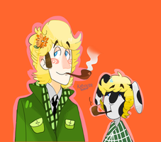 Cutie Graham and The Rabbit by KabouterPollewop