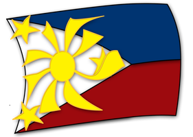 Philippine Flag by nevermindPH