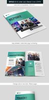 Bifold Business and Corporate Brochure Indesign by renefranceschi