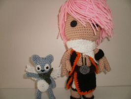 Sackboy Natsu and Happy of Fairy Tail by Sackboyncostume