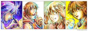 Color Doodles by Yakra