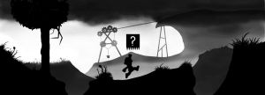 What are you doing here ? - Limbo art-style - by GreenTurtle666