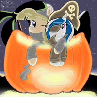 Project PPC: MB + SS Halloween 2015 -color- by mscherbear