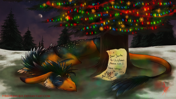 . Secret Santa 2011 . by FireofAnubis