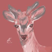 Young stag by NeonCircuitry