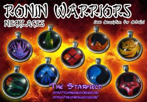 Ronin Warriors Necklaces FOR SALE by TCStarwind