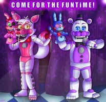 COME FOR THE FUNTIME by FNaF2FAN