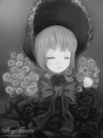 Sleep Forever BW by M-A-F
