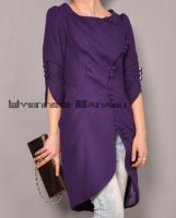 Purple Wool S Tulip Coat 9 by yystudio